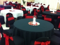 black chairs and linens 070